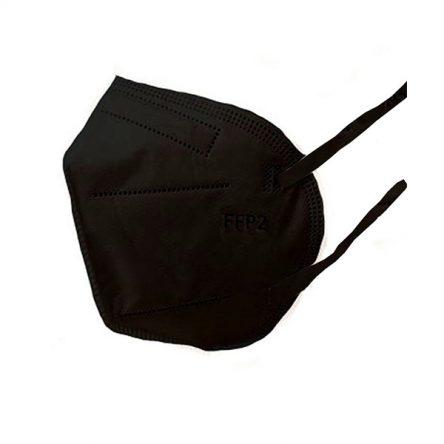 Respirátor FFP2 vyrobený v EÚ – Čierny