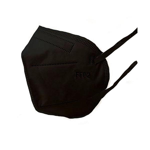 Respirátor FFP2 vyrobený v EÚ - Čierny