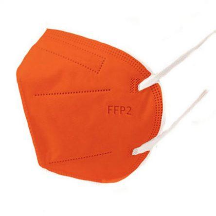 Respirátor FFP2 vyrobený v EÚ – Oranžový